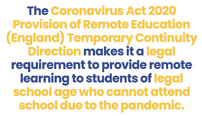 COVID Act 2020_Remote Learning_Blog
