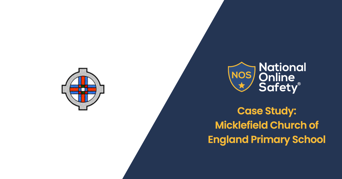Micklefield Church of England Primary School logo next to page title