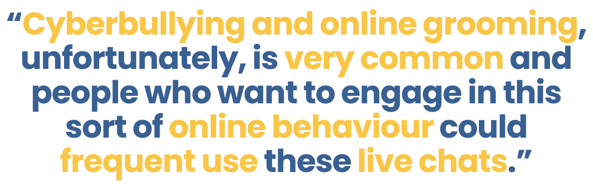 NOS- Live CHats Blog Quote