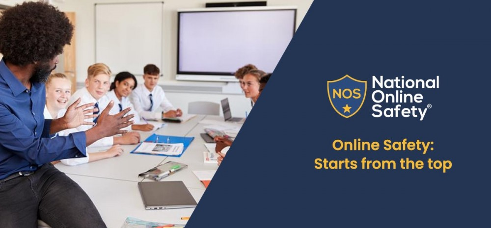 Online Safety Starts from the Top