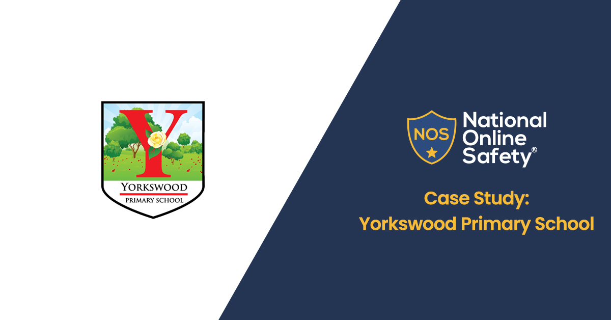 Yorkswood Primary Logo, Next to NOS logo and page title