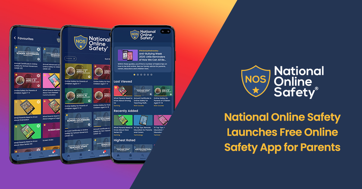 National Online Safety Launches Free Online Safety App for Parents