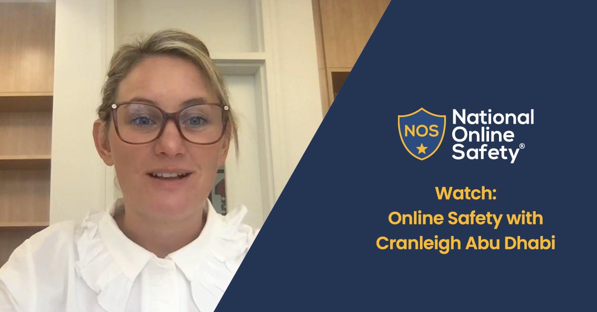 WATCH: Online Safety at Cranleigh Abu Dhabi