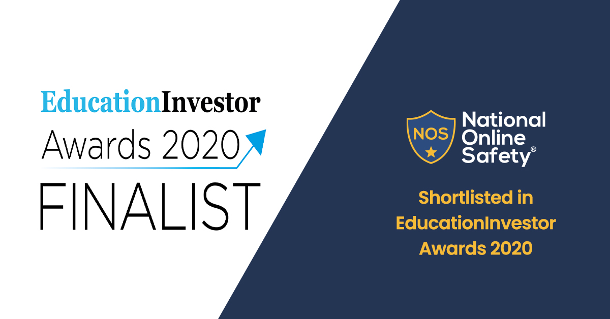 National Online Safety Shortlisted in EducationInvestor Awards 2020