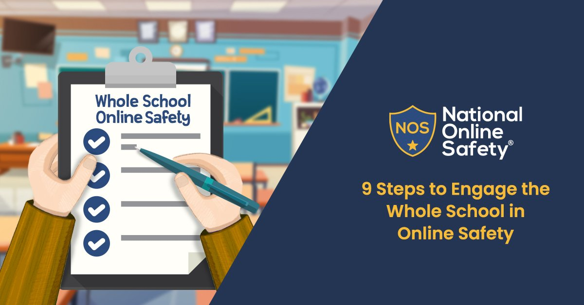9 Steps to Engage the Whole School in Online Safety