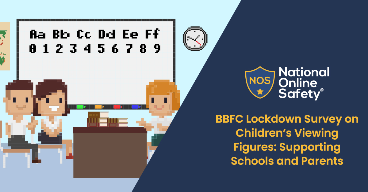 BBFC Lockdown Survey on Children's Viewing Figures