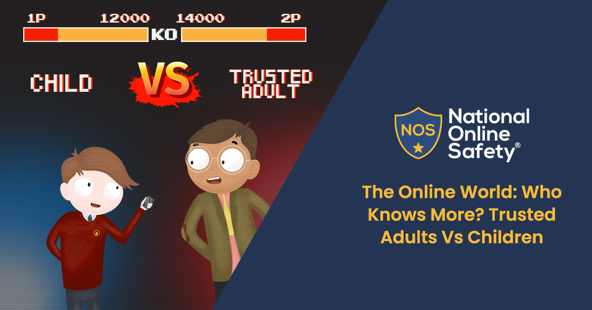 The Online World: Who Knows More? Trusted Adults Vs Children