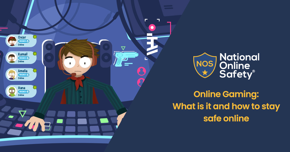 Online Gaming: What is it and how to stay safe online.