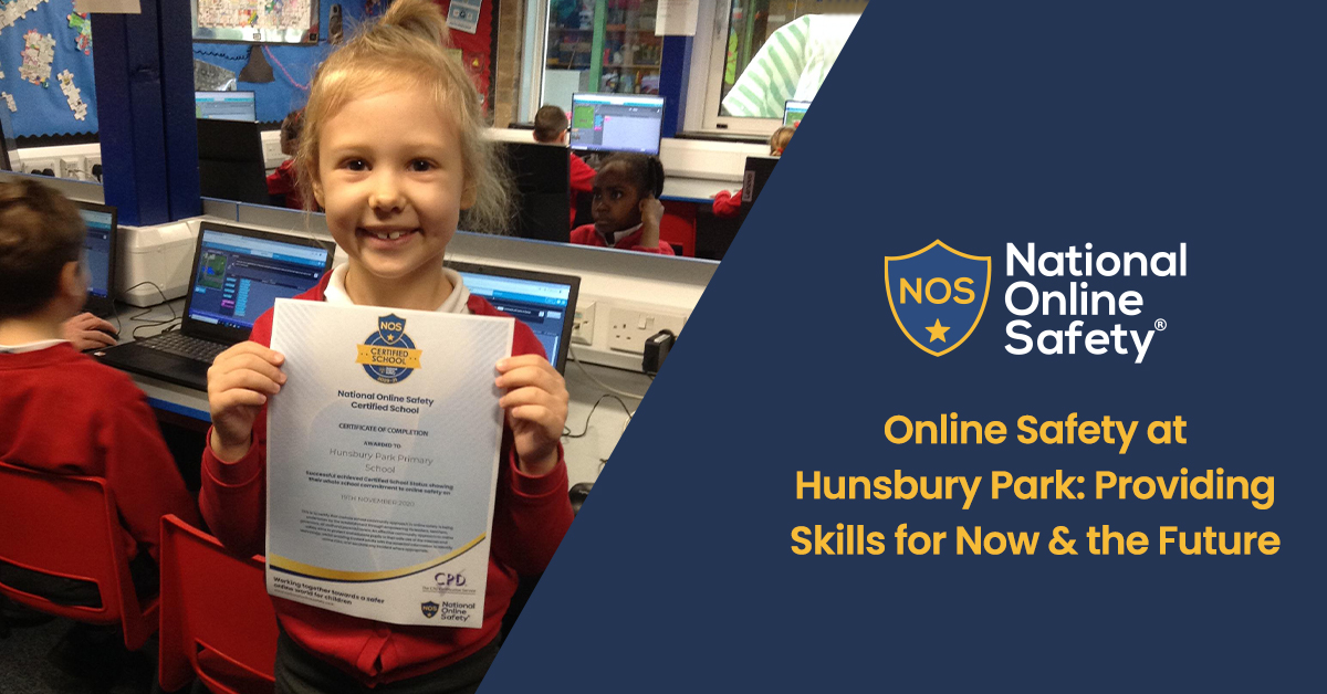 Online Safety at Hunsbury Park: Providing Skills for Now & the Future