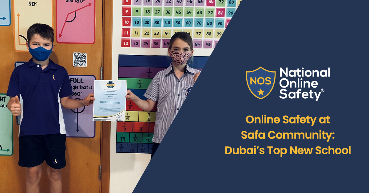 Online Safety at Safa Community: Dubai's Top New School