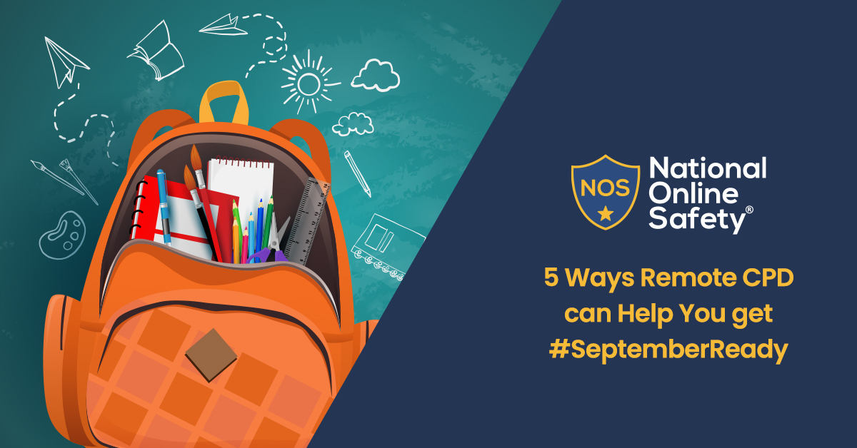 5 Ways Remote CPD can Help You get #SeptemberReady